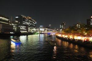 ภาพถ่ายจากบนสะพาน
