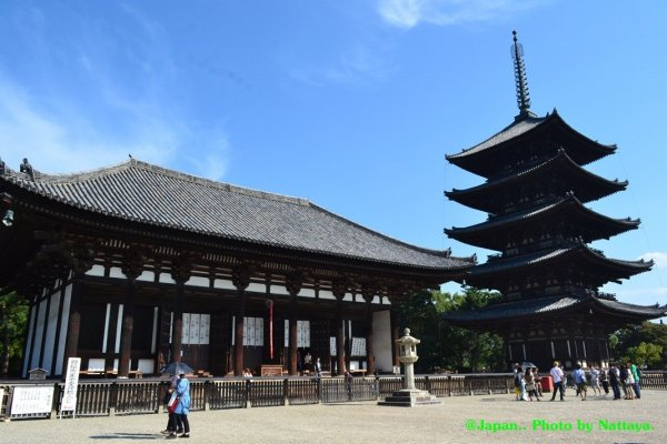 The Eastern Golden Hall and Five Story Pagoda.