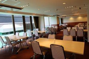 Meeting room to have breakfast