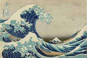 """The Great Wave off Kanagawa""ผลงานภาพพิมพ์แกะไม้ที่โด่งดังที่สุด โดยฝีมือของโฮะกุไซศิลปินระดับตำนานของญี่ปุ่น"
