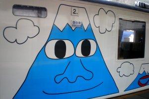 ไม่ผิดขบวนแน่นอน รถไฟไปชมฟูจิซัง