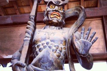 Striking Nio guardian