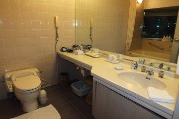 <p>The bath room</p>