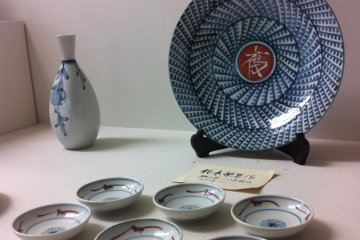 Museum piece Tobe-yaki