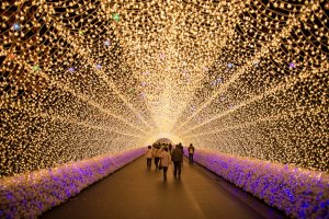 Ideal day out with the family, or a romantic time alone, Naba no Sato