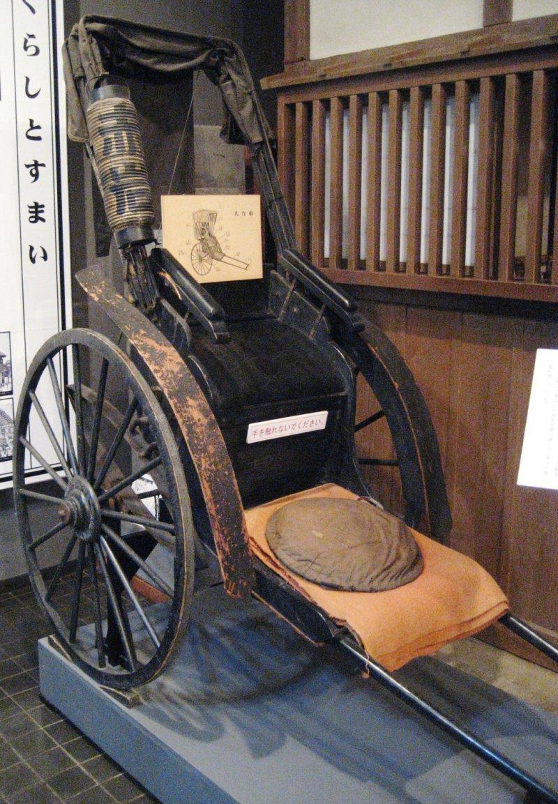 An original handpulled cart