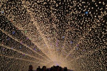 นะบะนะ โนะ ซาโตะ:การแสดงไฟในฤดูหนาว