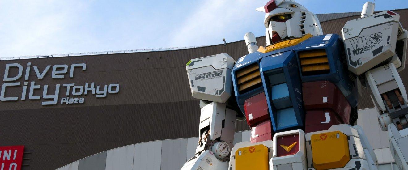 Tượng Gundam \