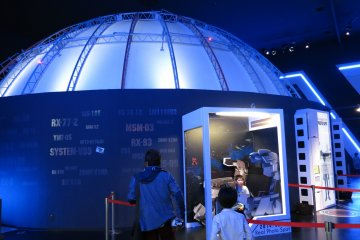 <p>Dome-G offers a video experience per admission ticket</p>
