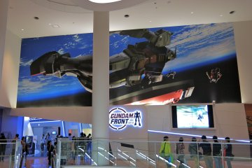 <p>Visit the Gundam Front Tokyo on the 7th Floor of Diver City Shopping Center</p>