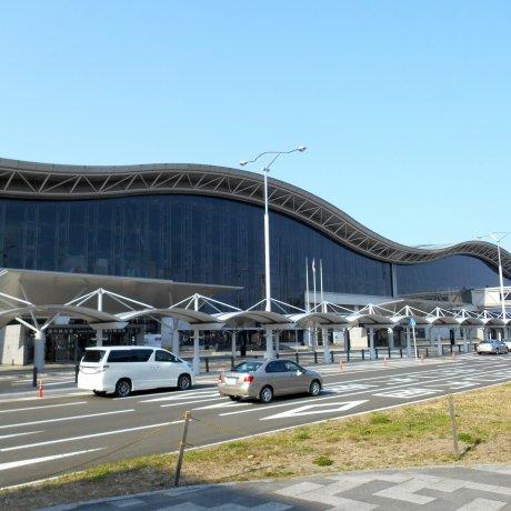 Do Aeroporto à Estação JR de Sendai