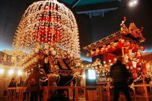 Desfrute do Festival Noturno de Chichibu todo o ano na Sala do Festival de Chichibu