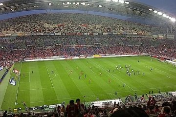 See a J-league soccer match with the Urawa Reds