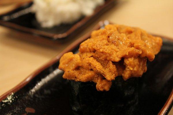 Uni Sushi รสหวานมัน ทานแล้ว ฟิน สุดๆ