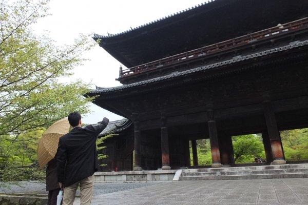 ประตูใหญ่ Sammon Gate ของวัดนันเซ็นจิ