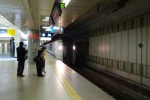 Kereta N'EX dari Narita ke Tokyo