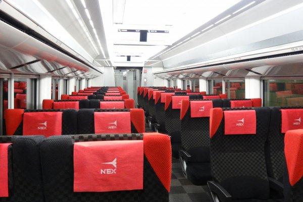บนรถไฟ N'EX