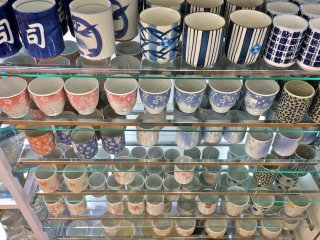 These ceramic tea cups are great souvenirs to send back home to your friends and family.