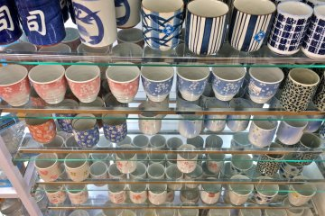 <p>These ceramic tea cups are great souvenirs to send back home to your friends and family.</p>
