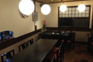 Restoran di lantai bawah