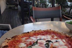 Margherita dengan rasa otentik dari Naples!