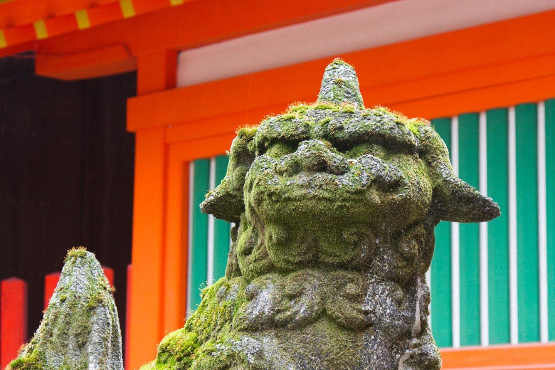 Guardian at Sumiyoshi Shrine