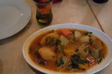 <p>Our stew</p>