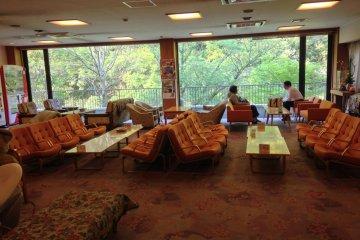<p>ล็อบบี้ของโรงแรม MinamiTei</p>
