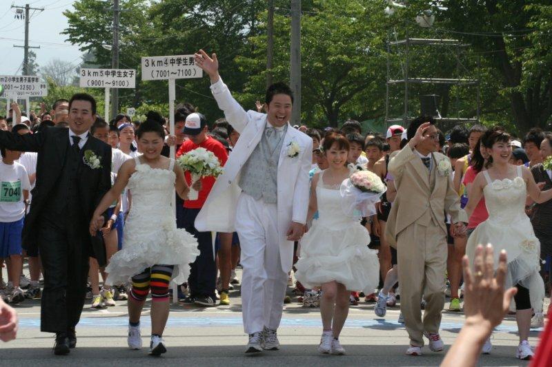 Is the Sakuranbo Marathon more fun than Tokyo Marathon?