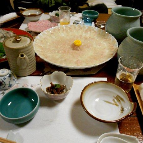 Japanese Kappo Cuisine Take, Fukui