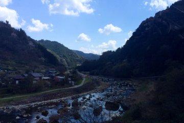 Tsuetate Hot Springs in Kyushu