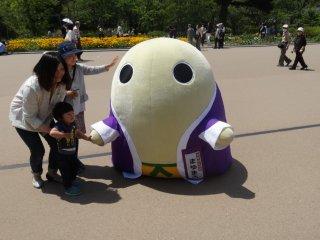 ตัวตุ๊กตาประจำสวนพฤกษศาสตร์ เกียวโต