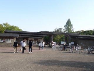 ทางเข้าสวนพฤกษศาสตร์ เกียวโต