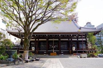 <p>Today&rsquo;s Honno-ji Temple</p>