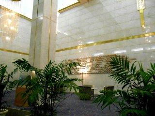 Lobi Century Plaza Hotel Tokushima