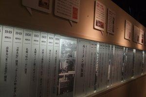 The ramen museum wall