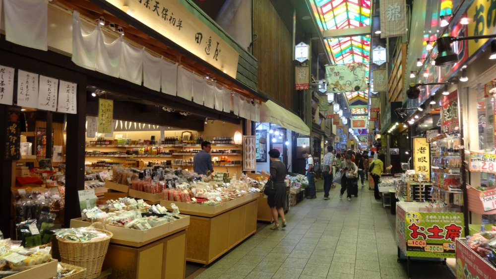 Octopus Delights At Nishiki Market Kyoto Japan Travel