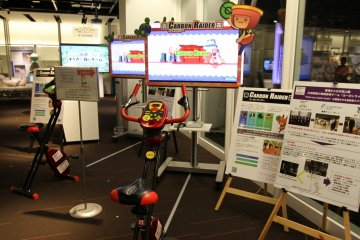 <p>A brilliant game to teach people about energy conservation, your thighs will disgaree.&nbsp;</p>