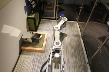 <p>Try operating a robotic arm!</p>