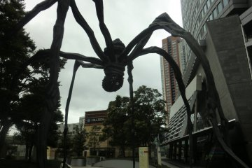 Roppongi Hills Spider - Don't be scared.