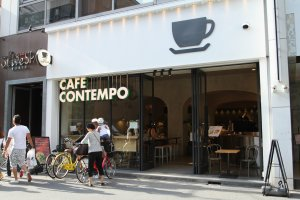 You can find one trendy cafe after another