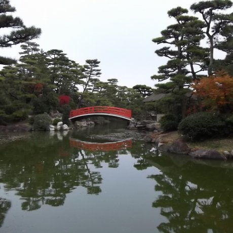 Nakatsu Bansho-En Garden, Marugame
