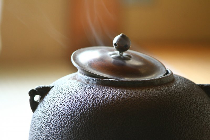 <p>在茶道中, 連爐的煙都是優雅的</p>