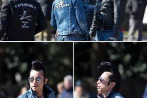 Yoyogi Park's rockabillies
