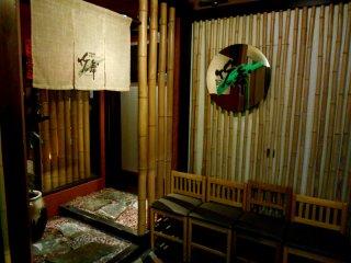 Entrance of 'Take-no Mai' (Bamboo Dance), Tokushima