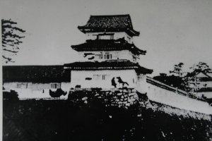 Tsu Castle as it looked about 140 years ago