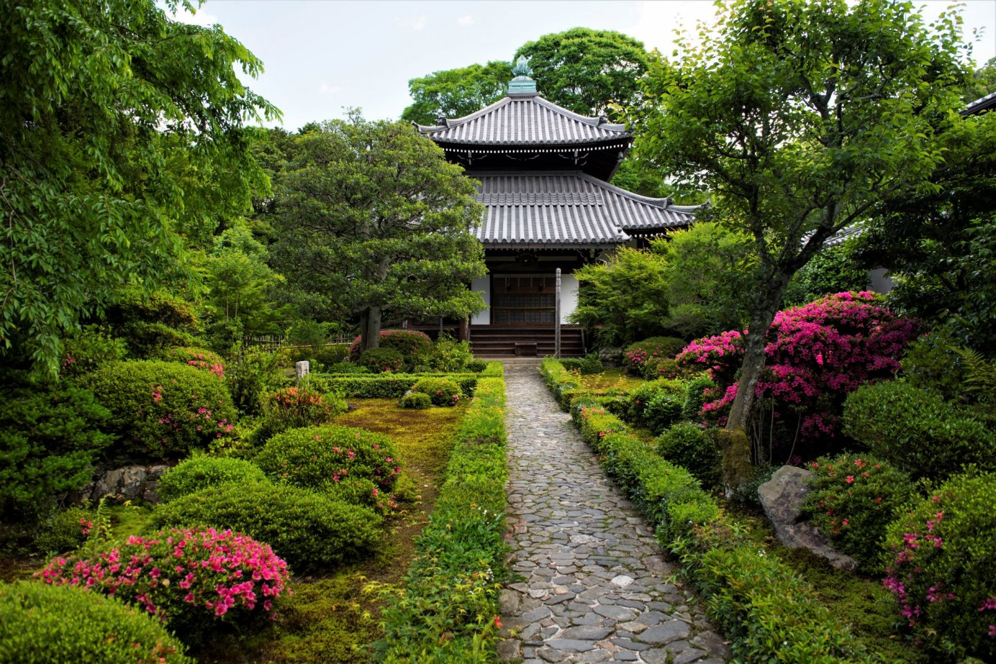 Anraku-ji, one of the smaller temples on the Philosopher\'s Path