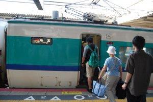 Boarding the Kuroshio