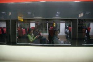 ความกว้างระหว่างที่นั่งบนขบวนรถไฟ