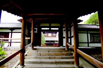 <p>Finally reaching Kaizan-do Hall</p>